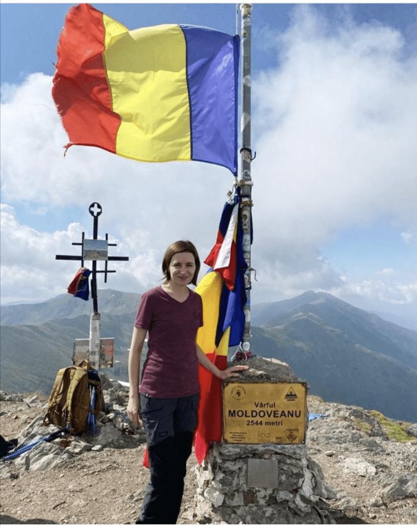 Misterul deslușit al urcării Maiei Sandu pe vârful Moldoveanu
